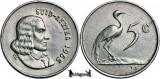 1965, 5 Cents (Hern#D86) - Africa de Sud