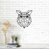 Decoratiune pentru perete, Ocean, metal 100 procente, 49 x 54 cm, 874OCN1026, Negru