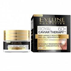 Crema concentrata regeneratoare Eveline Cosmetics Royal Caviar Therapy 60+ 50ml