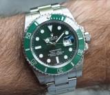 Ceas Automatic Luxury Green Edition Barbatesc
