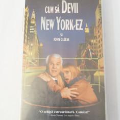 Caseta video VHS originala film tradus Ro - Cum sa devii New York-ez