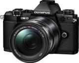 Aparat Foto Mirrorless Olympus E-M5II 1415II Kit, 16 MP, Filmare Full HD (Negru)