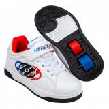 Heelys Swerve X2 White/Blue/Red, 30, 31, 33 - 35