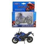 Macheta moto Suzuki 2017 GSX-S1000f Scara 1:18 Welly