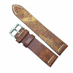 Curea pentru ceas Maro Vintage din piele naturala- 18mm, 20mm, 22mm C3248 H-Vintage