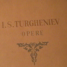 OPERE- TURGHENIEV-VOL-VI-NUVELE SI POVESTIRI-TRAD. ROSE HEPTER-ADA STEINBERG-, Alta editura