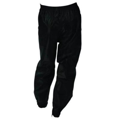 Pantaloni unisex impermeabili impotriva ploii sezon toamna iarna negru Marime 5XL foto