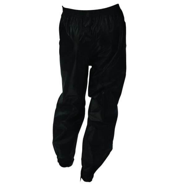Pantaloni unisex impermeabili impotriva ploii sezon toamna iarna negru Marime 5XL