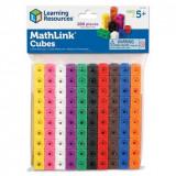 Set de constructie - MathLink 100 piese, Learning Resources