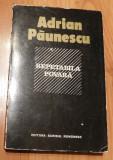 Repetabila povara de Adrian Paunescu. Prima editie