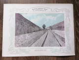 Plansa Calea ferata Craiova Calafat