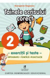 Tainele scrisului corect - Clasa 2 - Exercitii si teste - Georgiana Gogoescu