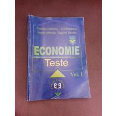 Economie, teste - Costica Popscu vol.I