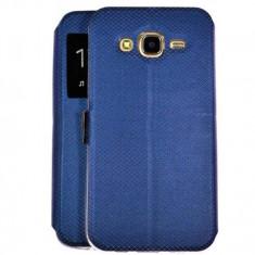 Husa FlipCover Book Samsung GalaxyJ3 2017 j330 Fashion Dark Blue S-View