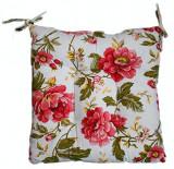 Pernuta pentru scaun trandafiri rosii 45x45cm Raki