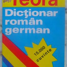DICTIONAR ROMAN-GERMAN 15.000 CUVINTE - SIRETEANU-TOMEANU