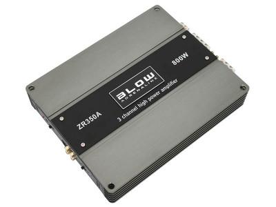 Amplificator Statie Audio Auto Hi-Fi Blow ZR350A cu 3 Canale, Putere 800W foto