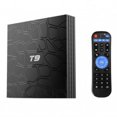 Mini PC TV Box T9 Android 8.1 UltraHD 4k, 4GB Ram DDR3, 32GB ROM, Wi-fi, Quad-Core CPU, Octa-Core GPU