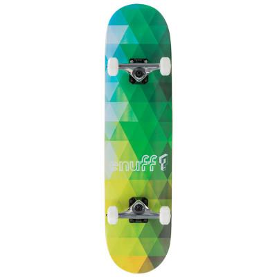 Skateboard Enuff Geometric Green 8x32inch foto