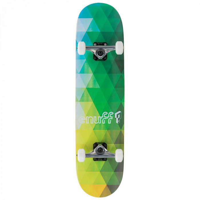 Skateboard Enuff Geometric Green 8x32inch