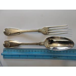 Set tacamuri argint vintage -9006