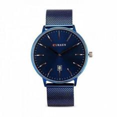 Ceas de mana barbati elegant - Curren - M8302BLUE
