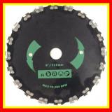 Cumpara ieftin Disc Motocoasa cu Lant de Drujba Motocositoare Vegetatie densa 230x 25.4 x 20T