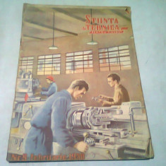 REVISTA STIINTE SI TEHNICA PENTRU TINERET NR.9/FREBRUARIE 1950