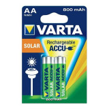 Acumulatori solari Varta R6 (AA) Mi-MH, 800 mAh, 2 bucati
