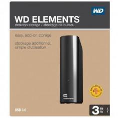 HDD Extern Western Digital Elements Desktop 3TB, USB3.0