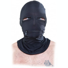 Masca Zipper Face Hood