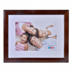 Rama foto din lemn, 41×33 cm, maro