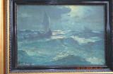 Tablou vechi colectie, pictura in ulei, DIMITRIE FLORIAN