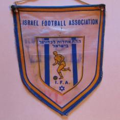 Fanion (vechi) fotbal - Federatia de Fotbal din ISRAEL