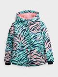 Jachetă de schi pentru fete (122-164), 4F Sportswear