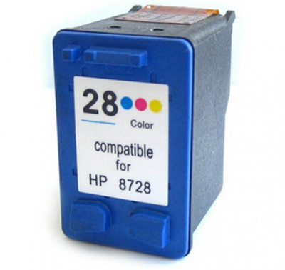 Cartus HP 28 C8728AE color compatibil foto