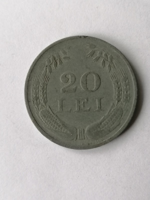 20 lei 1942 .Romania zinc foto