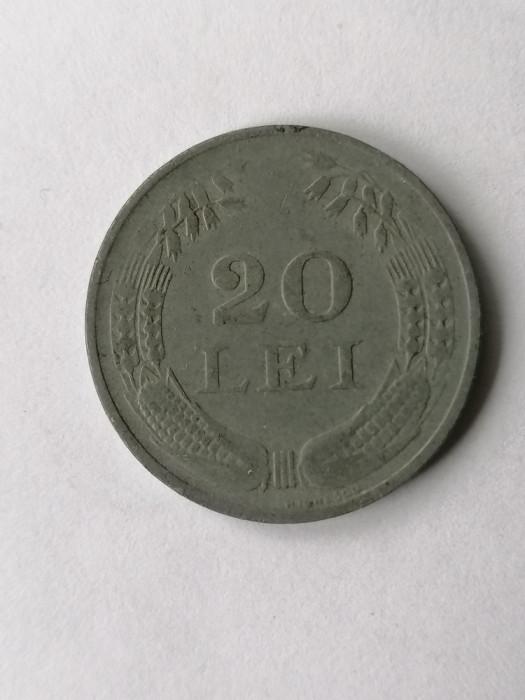 20 lei 1942 .Romania zinc