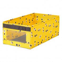 Cutie depozitare jucarii, 25 x 44 x 17 cm, manere laterale