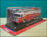 Macheta pompieri E-One Heavy Rescue (1999) 1:64 Del Prado