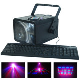 Laser Moon Flower, conexiune PC, 196 LED-uri, 6 canale DMX