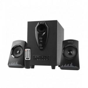 Boxe Audio 2.1 Astrum MS210 30W, Bluetooth, FM, USB, cu Telecomanda