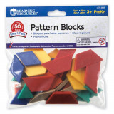 Forme geometrice - 50 piese, Learning Resources