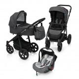 Carucior 3 in 1 Baby Design Lupo Comfort 07 Graphite