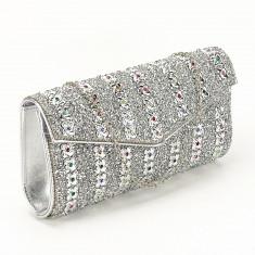Plic argintiu decorat cu pietre Star