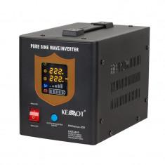 UPS pentru centrale termice PRO Sinus KEMOT, 500 W, iesire sinus pur