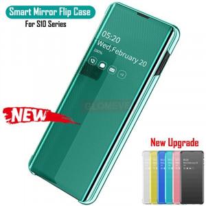 Husa Flip tip oglinda Clear View Samsung Galaxy Note 10 ,Note 10+, S10