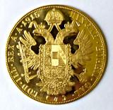 AUSTRIA 4 DUCATI DUKATI 1915 AUR, Europa