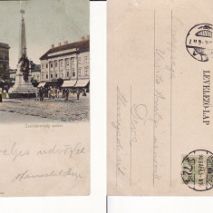 Arad - clasica,  rara, Circulata, Printata
