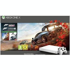 Consola Xbox One X 1TB alba + Forza Horizon 4 + Forza Motorsport 7
